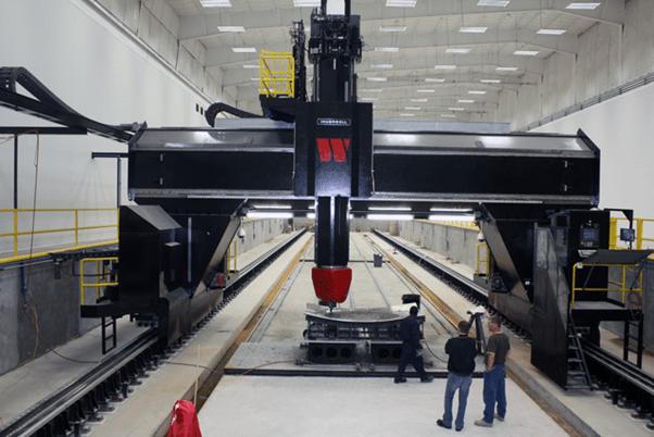72 Meter Gantry Mill