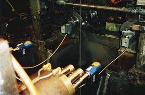 V-8 Engine Crank Link Closeup