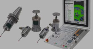 machine tool for probing